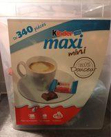 BOX KINDER MAXI MINI 340 pcs - Produit