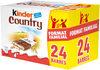 Barres chocolat au lait et cereales - Produit