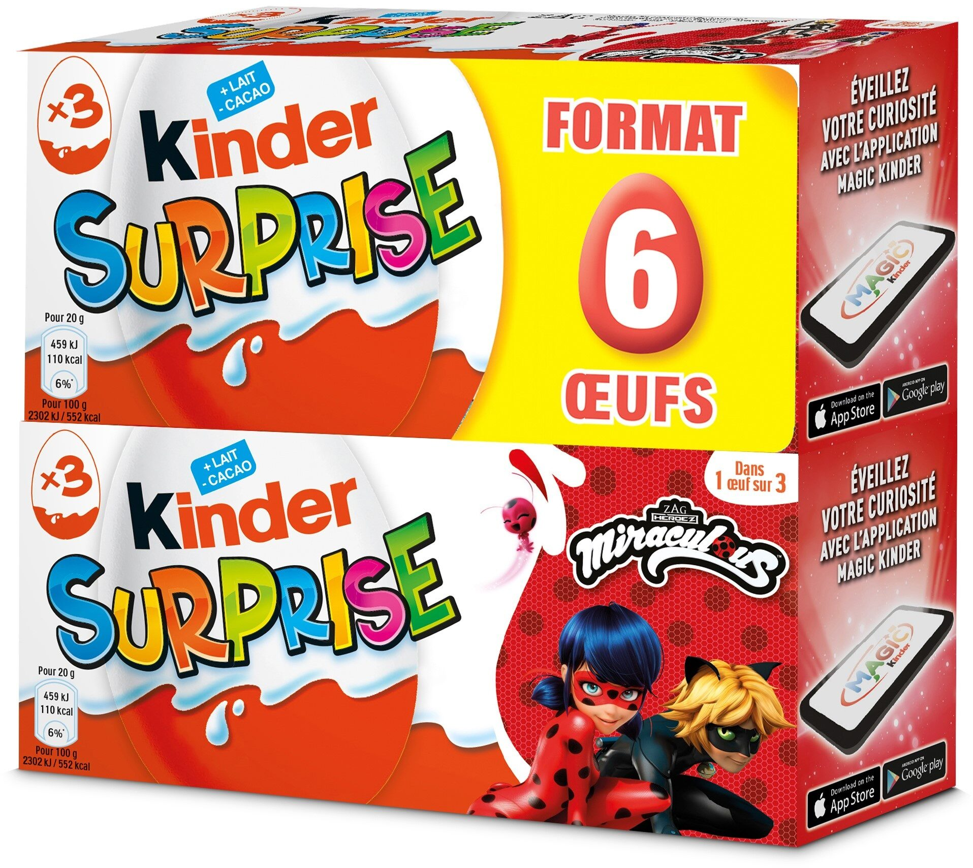 Kinder Surprise - Produit - fr