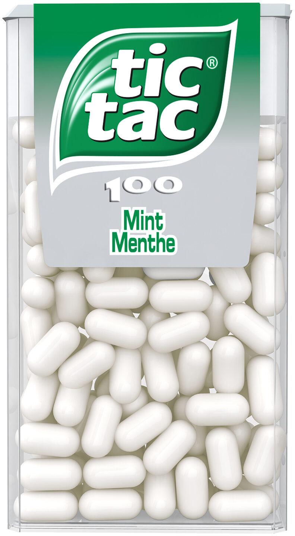 Bonbons tic tac goût menthe - Prodotto - fr