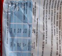 Kinder bueno gaufrettes enrobees de chocolat 2 x2 barres - Voedingswaarden - fr
