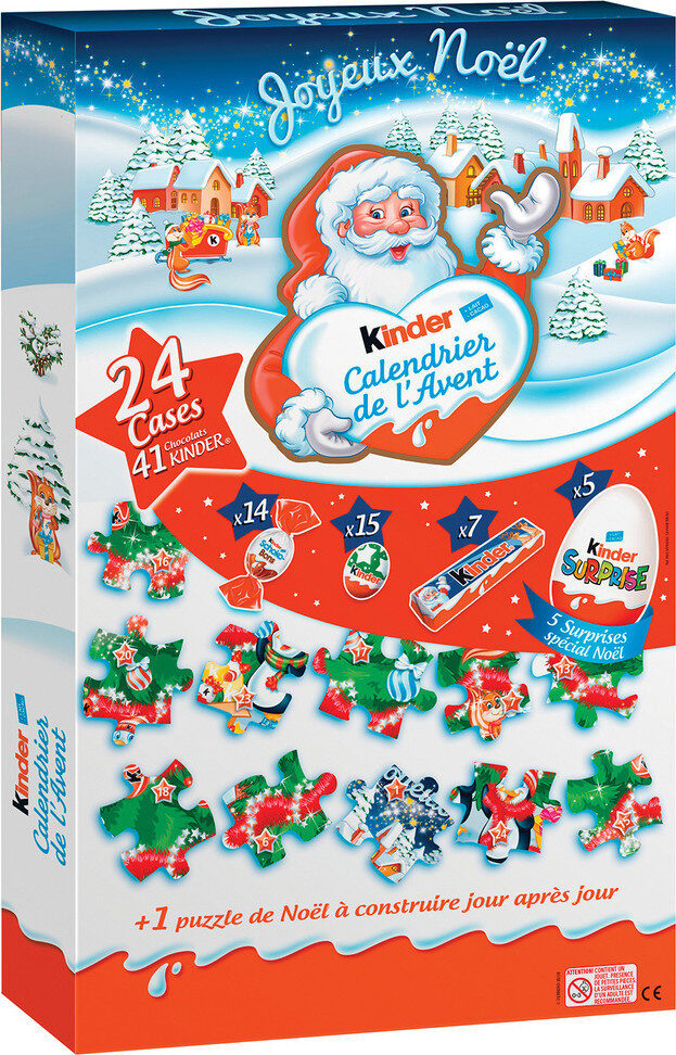 Kinder calendrier de l avent maxi puzzle - Prodotto - fr