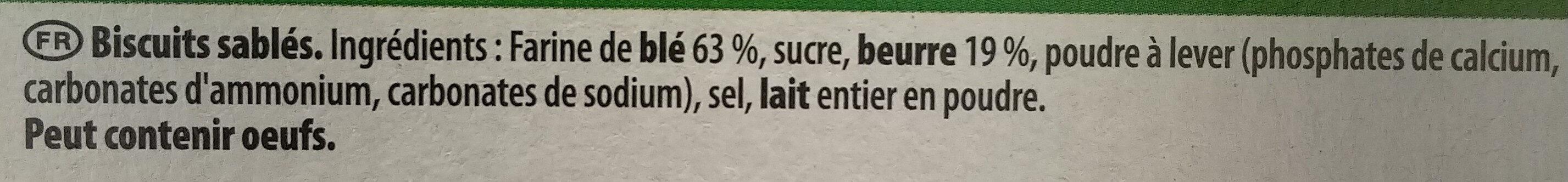 Beurré Nantais - Ingrédients - fr