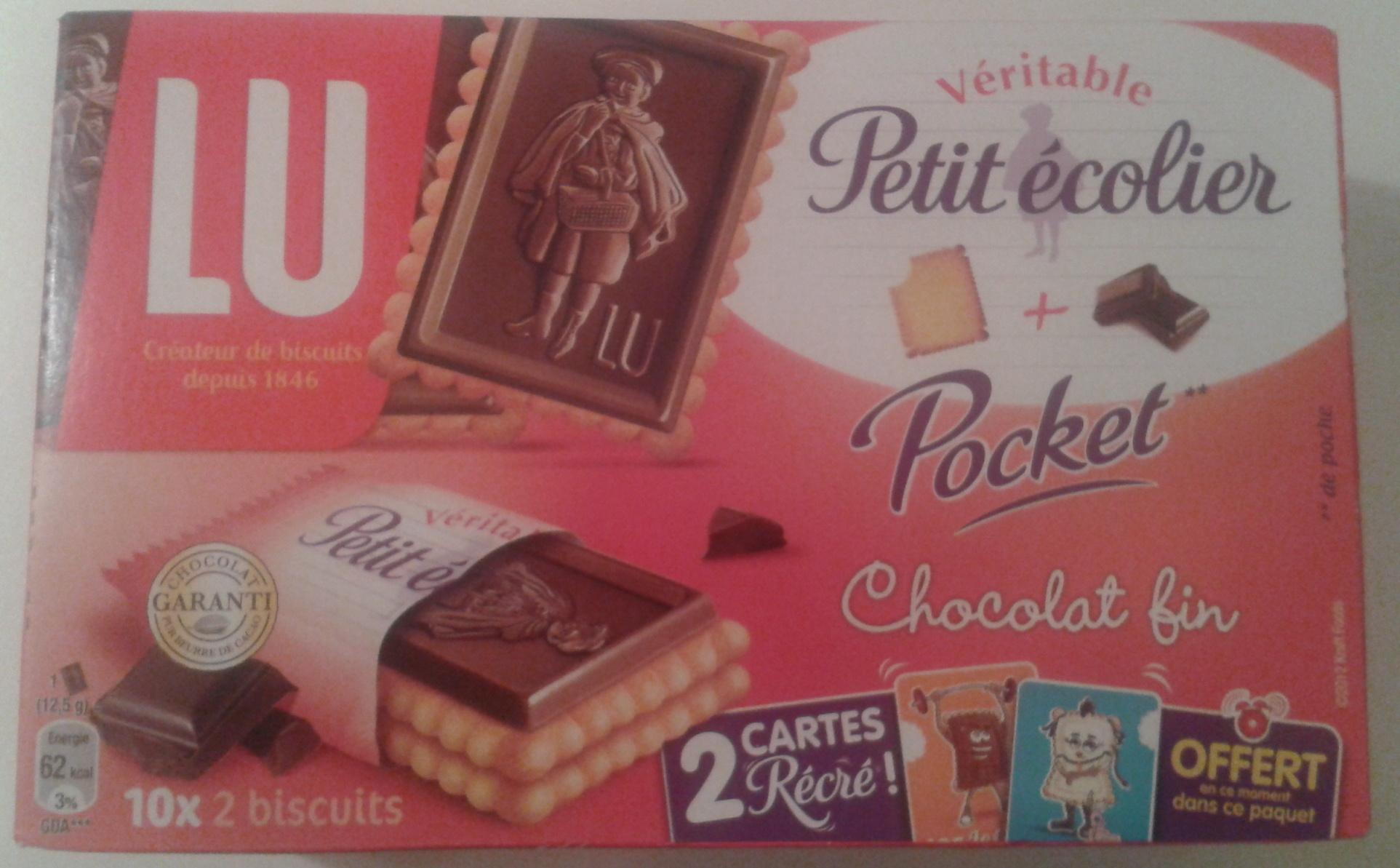 Véritable Petit Ecolier Pocket - Produit