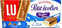 Véritable petit écolier tendre coeur, 6 biscuits - Produit