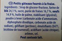 La Coqueline - Ingrediënten - fr