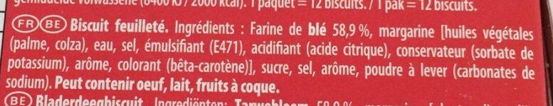 Palmito L'original - Ingrédients - fr