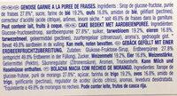 Lulu La Barquette Fraise - Ingredients - fr