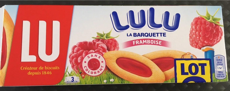 Lulu Barquettes framboise - Produit - fr