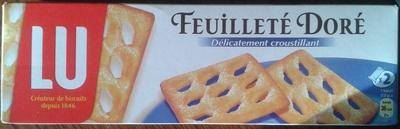 Feuilleté doré - Product - fr