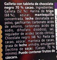 Petit Écolier Choco Pasión - Ingrédients - fr