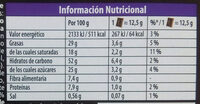 Petit ecolier choco pasion - Informations nutritionnelles - es
