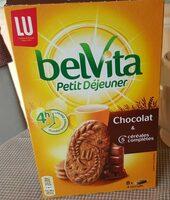 Belvita - Petit Déjeuner - Chocolat & 5 Céréales Complètes - Product