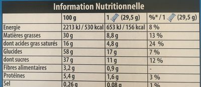 Pepito pockitos - Informations nutritionnelles - fr