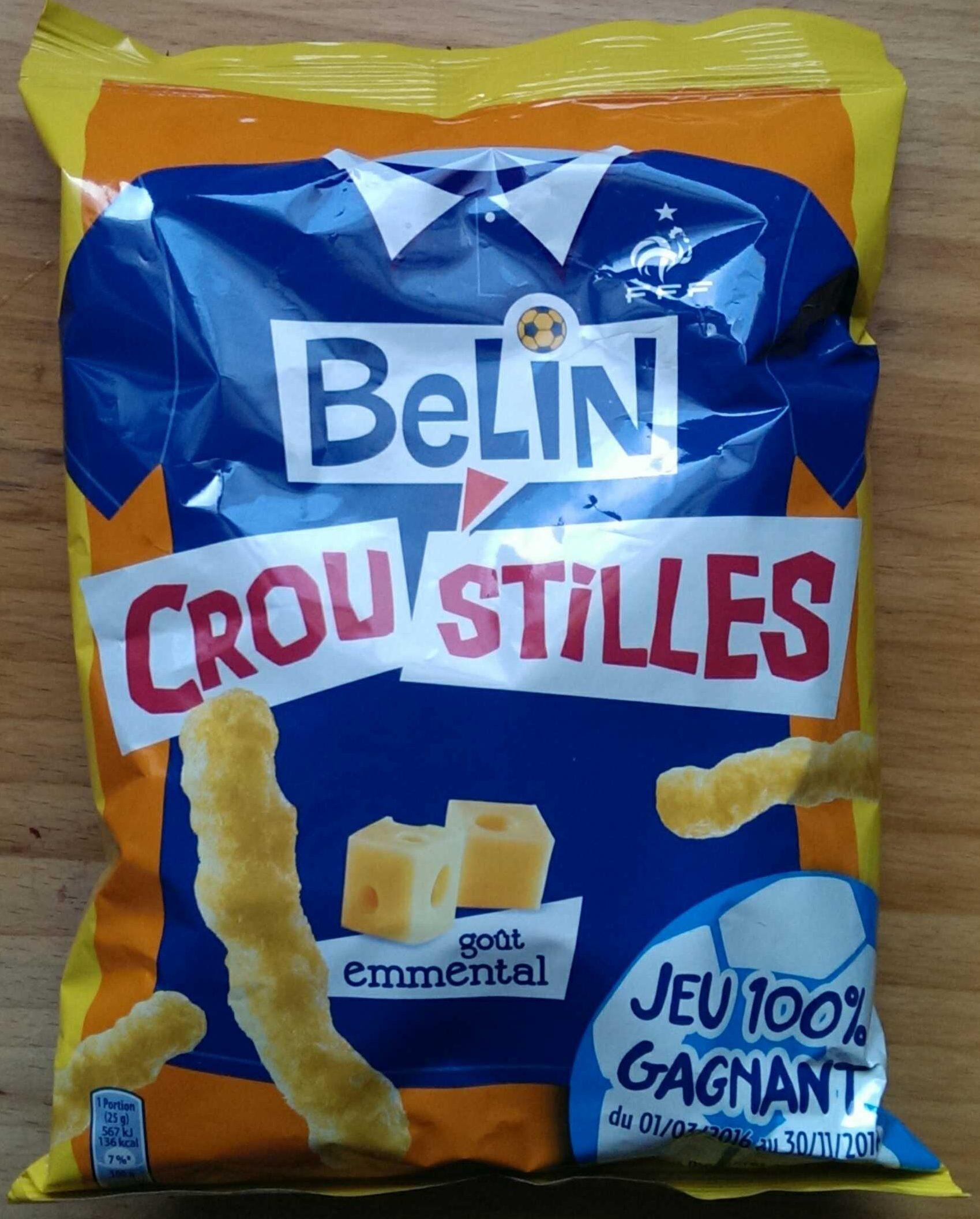 Croustilles goût emmental - Product - fr