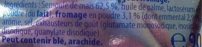 Croustilles goût emmental - Ingredients - fr
