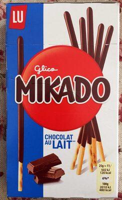 Mikado biscuit sticks milk chocolate - Product - en