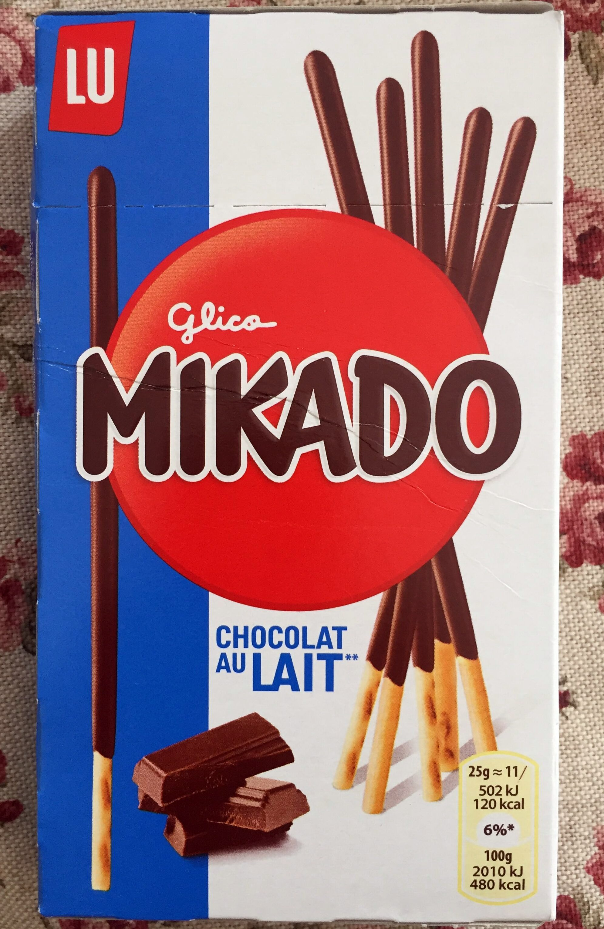 Mikado chocolat au lait - Producto - es