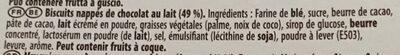 Mikado chocolat au lait - Ingrediënten - fr