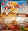Heudebert - Biscottes fibres+ - Producto