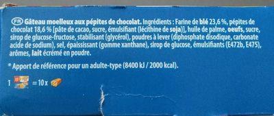 Pépito pépites - Ingrediënten - fr