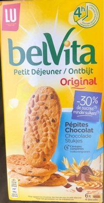 BelVita Petit Déjeuner Oririnal -30 % de sucres - Product - fr