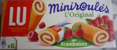 Miniroulés aux Framboises - Produit - fr