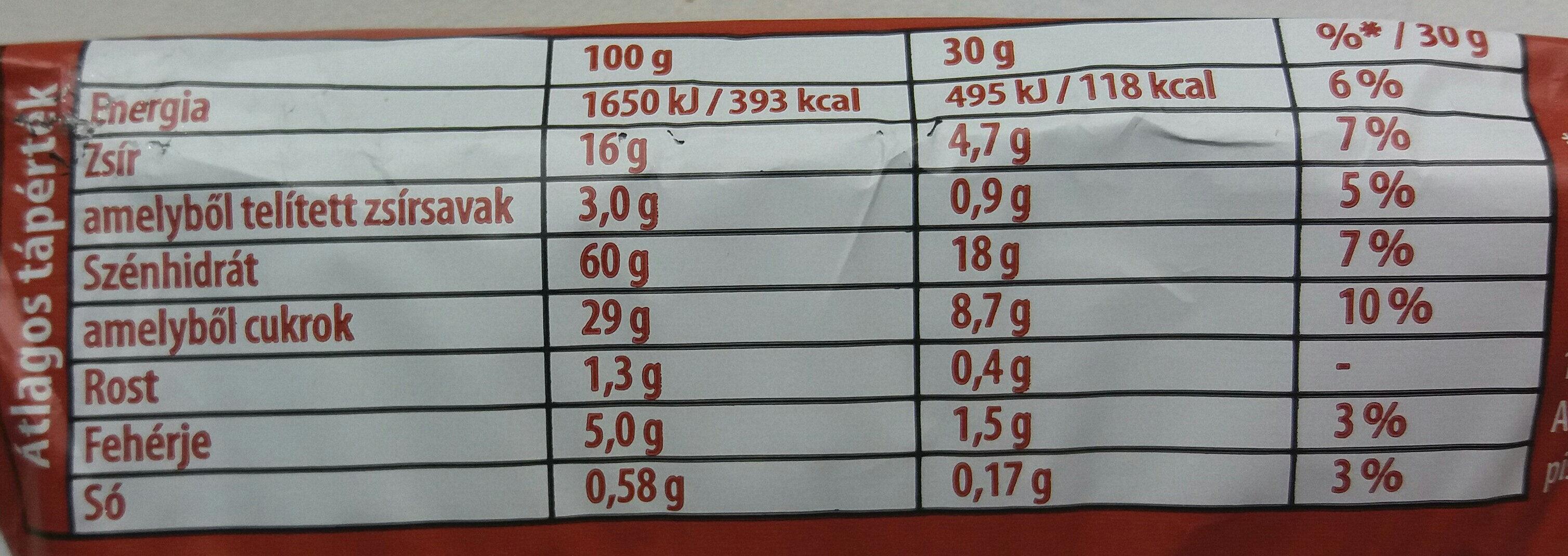 Dörmi, csokis - Nutrition facts - hu