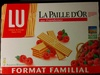 La Paille D'Or aux framboises - Produit