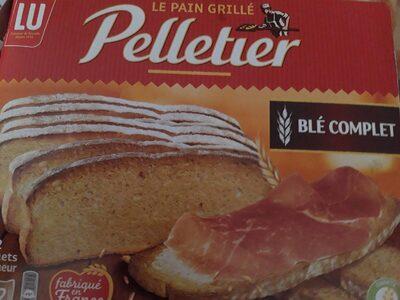 BISCOTTES AU BLÉ COMPLET - Product - fr