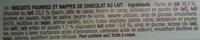 Pépito Mini Rollos Chocolat au Lait & Coeur fondant au Lait - Ingrédients