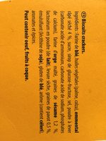 720G Assortiments Sales 4 Varietes Tradition Belin - Ingredients