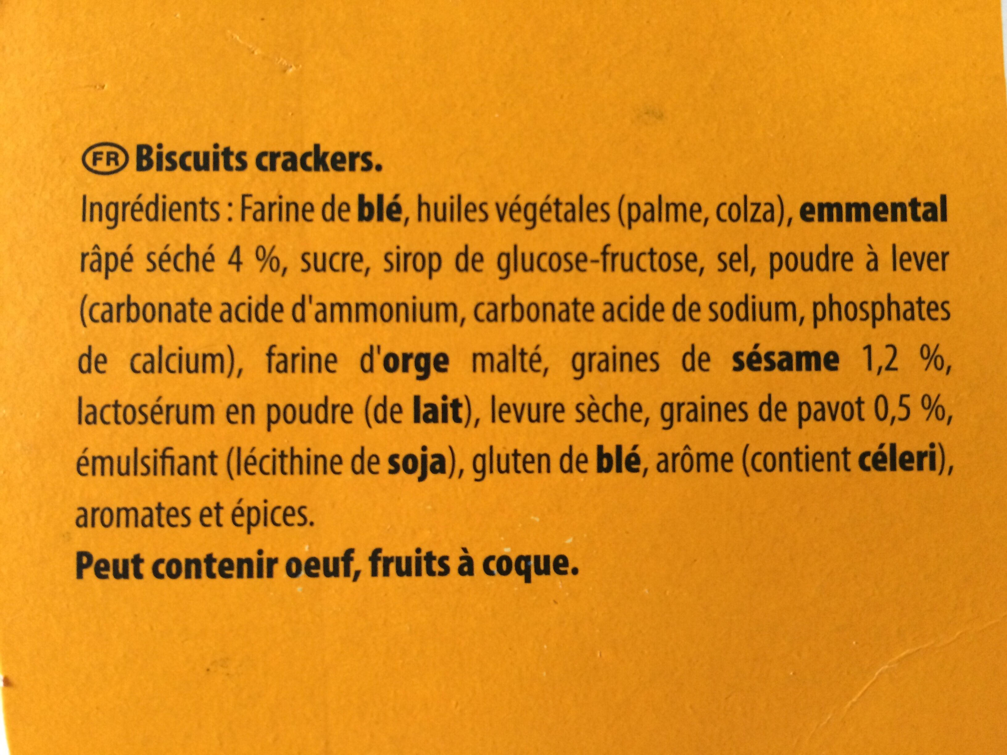 720G Assortiments Sales 4 Varietes Tradition Belin - Ingrediënten - fr
