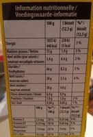 Belvita Petit Déjeuner Chocolat - Voedingswaarden - fr