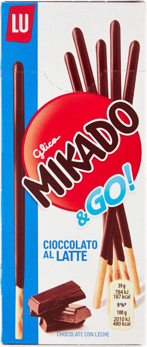 Mikado chocolat au lait - Product - fr
