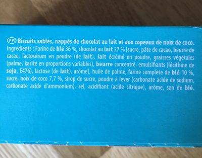 Granola Chocolat au lait Noix de coco - Ingrédients