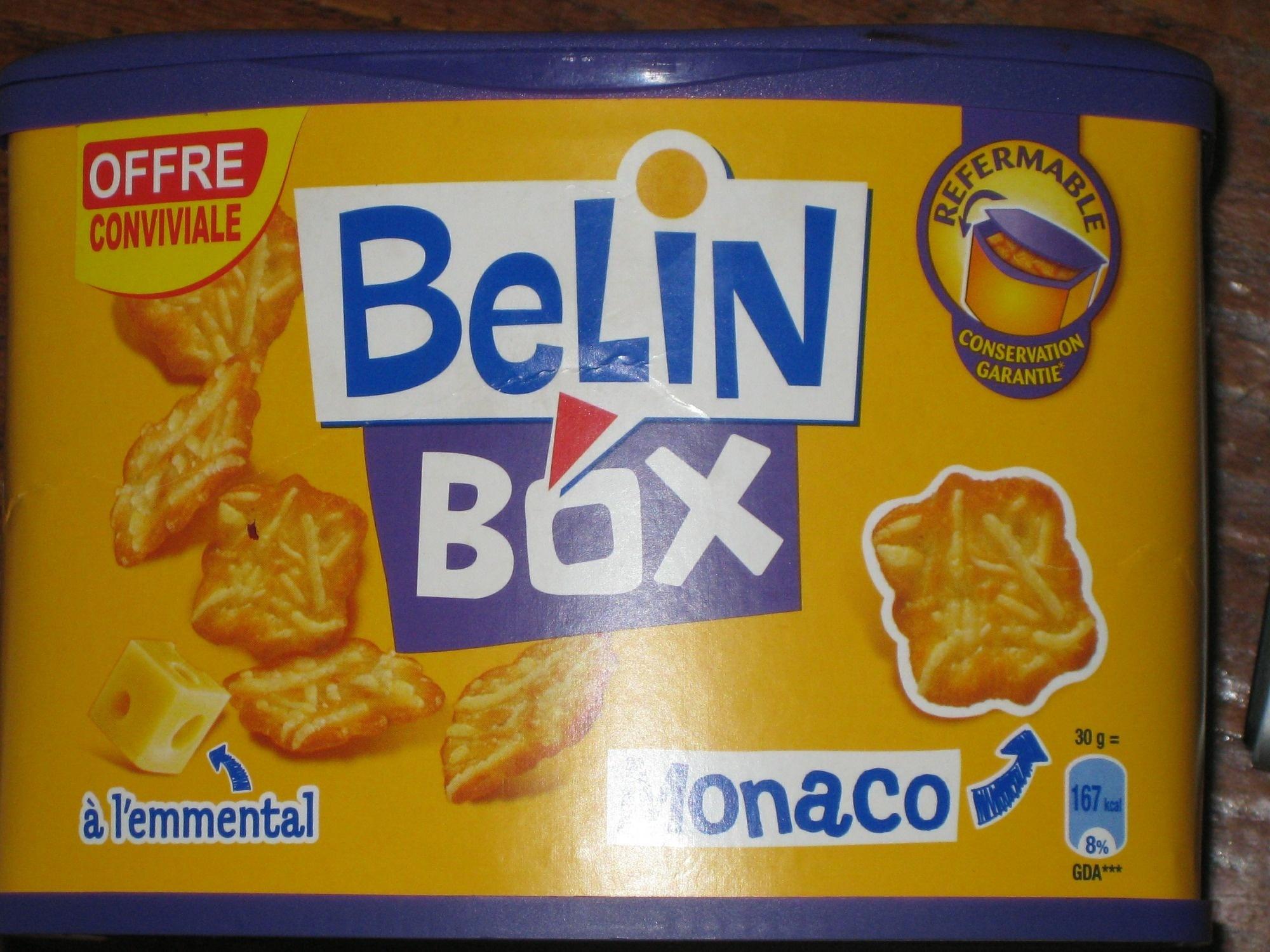 Monaco à l'emmental (Belin Box) -