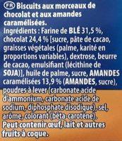 Granola Gros éclats de Chocolat - Ingrédients - fr