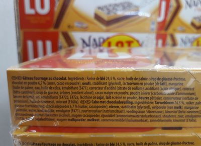 Biscuits Lu Napolitain Classic, - Ingredients