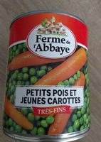 Petits pois et jeunes carottes très fins - Produit - fr