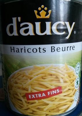 Haricots Beurre, Extra Fins - Produit - fr