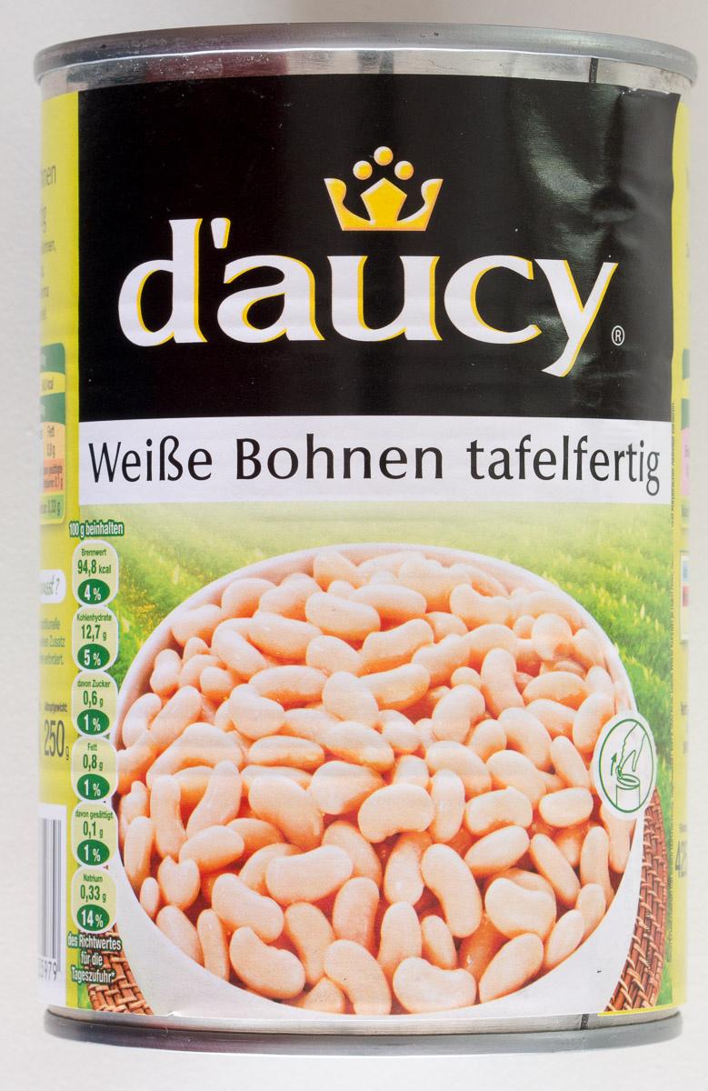 Weiße Bohnen tafelfertig - Produkt