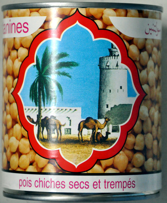 Pois chiches secs et trempés - Product