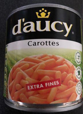 Carottes extra fines Daucy - Produit - fr