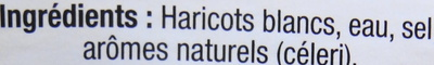 Haricots blancs - Ingredients - fr