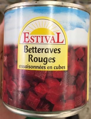 Betteraves Rouges assaisonnées en cubes - Produit