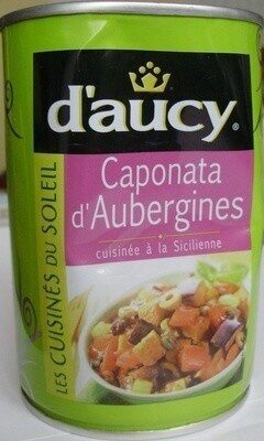 Caponata d'Aubergines (cuisinée à la Sicilienne) - Product - fr