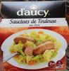 Saucisses de Toulouse aux choux - Product