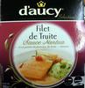 Filet de Truite, Sauce Nantua et sa purée de pomme de terre-cresson - Produit