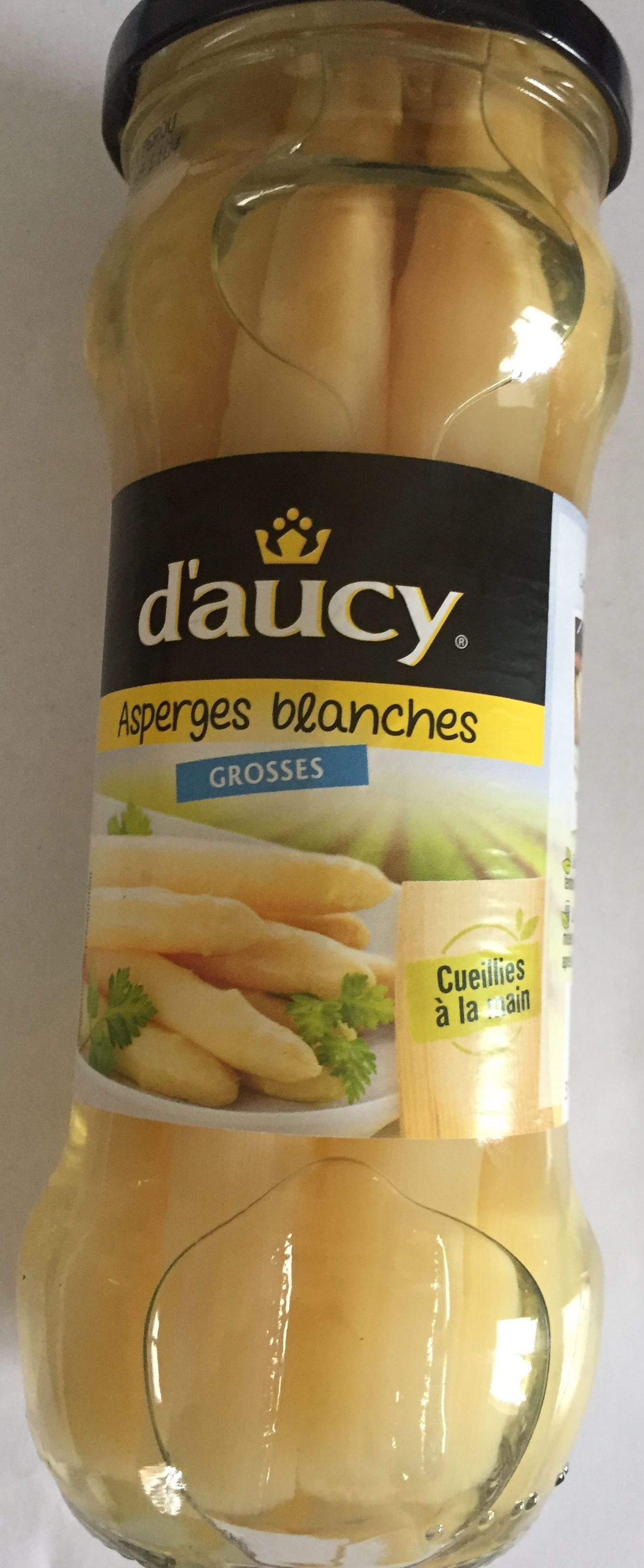 Asperges blanchs grosses - Product - fr
